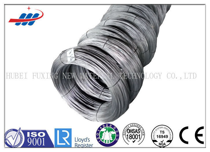 High Tensile 72A Galvanized Steel Core Wire For Mesh Building , Length Customized