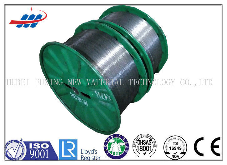 High Tension Spring Wire Steel Bright / Zinc Coated With Diameter 1.5mm
