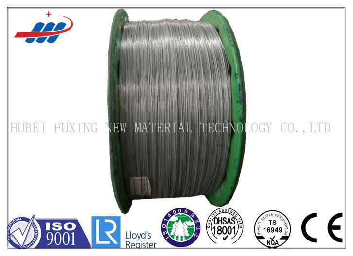 Tempering Galvanized High Carbon Steel Wire For Loading / Forestry , ASTM BS Standard