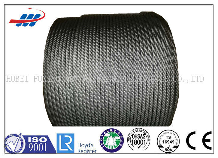 Steel Rotation Resistant Wire Rope For Crane 35Wx7 , DIN / EN Standard