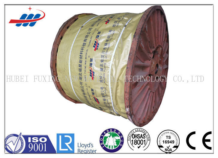 19x7 Anti Twisting Steel Wire Rope Cable For Building / Shipping , Length OEM